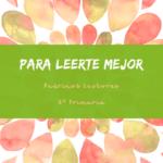 PADRINOS LECTORES. Semana Cultural